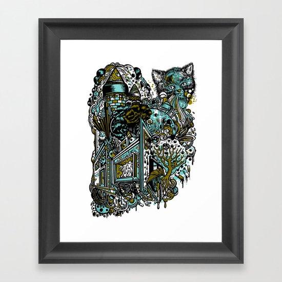 The Castle Of Doom and Sugar Framed Art Print