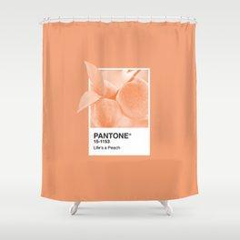 Pantone Series – Peach #2 Shower Curtain