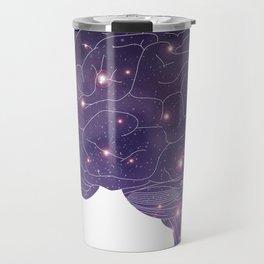 Universe in Brain Travel Mug