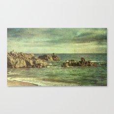 Rocky Paradise Canvas Print
