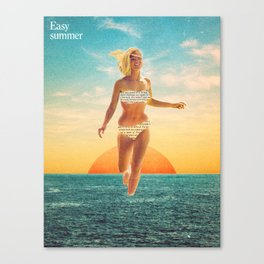 Easy summer Canvas Print