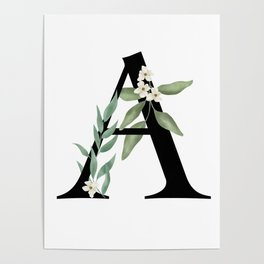 Botanical A Poster