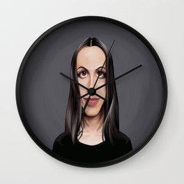 Celebrity Sunday ~ Alanis Morissette Wall Clock