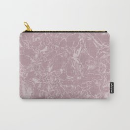 Rose marble Carry-All Pouch