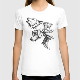 Moony Wormtail Padfoot Prongs T-shirt