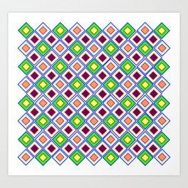 Klassik Muster   (A7 B0009) Art Print