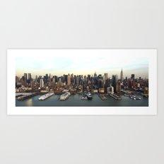 Hudson Meet NYC Art Print