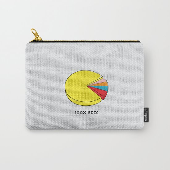 Epic Pie Chart Carry-All Pouch