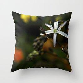 Wildflower at Mavericks Beach - No. 1 Throw Pillow