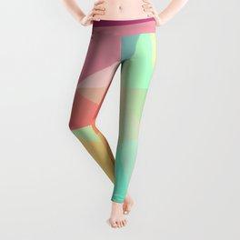 geometric V Leggings