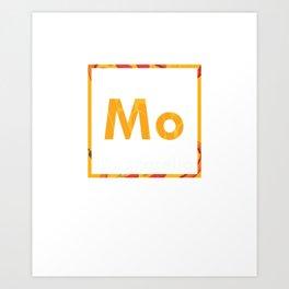 Mo Mozzarella Pizza Art Print