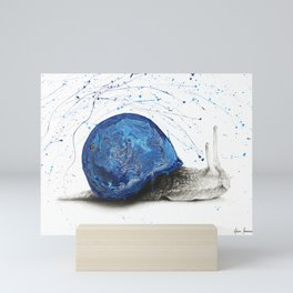Snail Mini Art Print