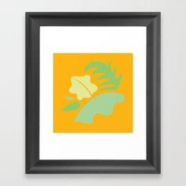 Tropical - Foliage Framed Art Print