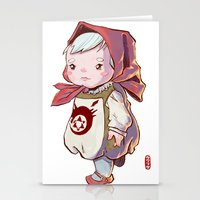 fullmetal Stationery Cards featuring Homunculus by Jordan Lewerissa