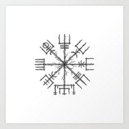Vegvisir Art Print