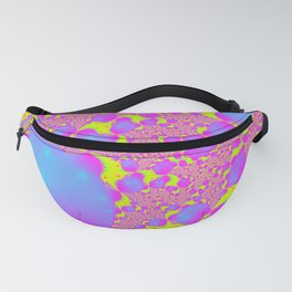 trippy blessing day fractal 1 Fanny Pack