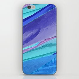 Silky Pastel Waves iPhone Skin
