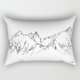Spring Thaw Rectangular Pillow