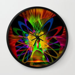 New York Nyc - Statue Of Liberty 3 Wall Clock