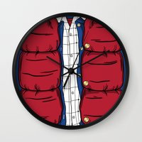 mcfly Wall Clocks featuring The McFly by antastic