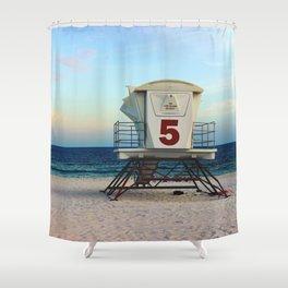 lifegaurd #5 Shower Curtain