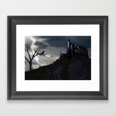 Mystery on the Hill Framed Art Print