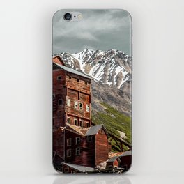 Nature and industry iPhone Skin