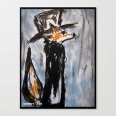 Dandy Fox Canvas Print