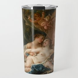 """François Boucher """"Jupiter and Callisto (The Nymph Callisto Seduced by Jupiter in the Guise of Diana) Travel Mug"""