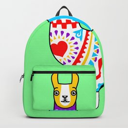 Colorful llama Backpack