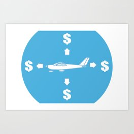 How Planes Really Fly Art Print