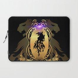 Awesome  black lion Laptop Sleeve