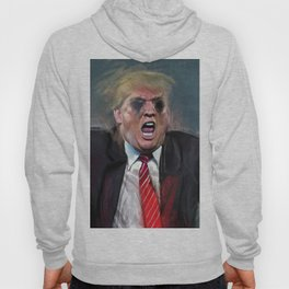 Donald Trump Fascist At The Pulpit Screaming Hoody