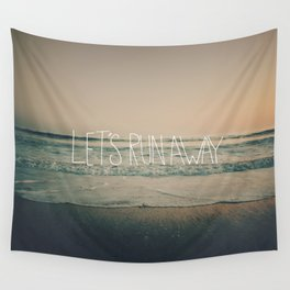 Let's Run Away by Laura Ruth and Leah Flores Wall Tapestry