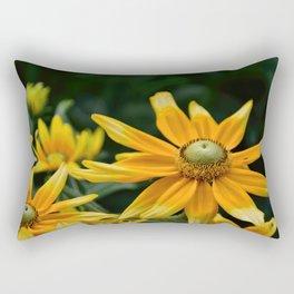 Golden Yellow Rectangular Pillow
