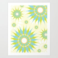 Popsy Twirl Art Print