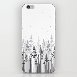 White field iPhone Skin