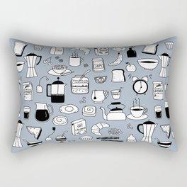 Breakfast Things Rectangular Pillow