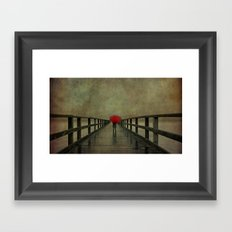 Where?? Framed Art Print