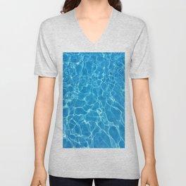 pool water Unisex V-Neck