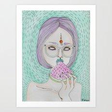 Summer Sweetness Art Print