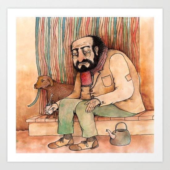 Mate Art Print