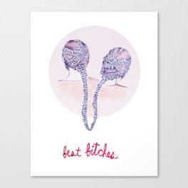 Best Bitches Canvas Print