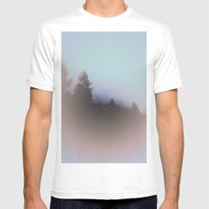 Silent Hill Mens Fitted Tee White MEDIUM
