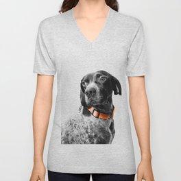 Dog Color Desolation Unisex V-Neck