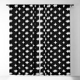 Hatch Cross Blackout Curtain