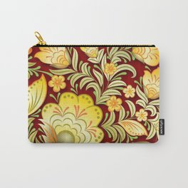 Art Flowers V2 Carry-All Pouch