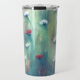 Dancing Field of Flowers Travel Mug