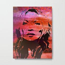 Kate Moss  Metal Print