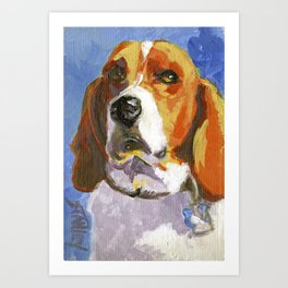 Whadaryoulookinat? Art Print